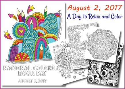 Wednesday August 2nd Is National Coloring Book Day We Want To Celebrate By Having A Family Party At The Library